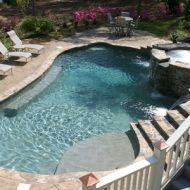 Atlanta Georgia Custom Freeform Pool Remodel