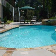 Atlanta Georgia Custom Freeform Pool Remodel