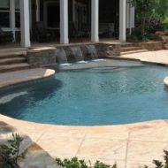 Pool Freeform in Atlanta Georgia
