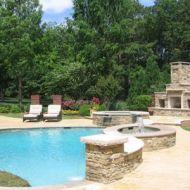 Freeform Pool Design in Atlanta Georgia