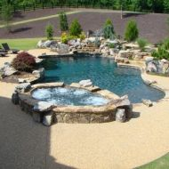 Atlanta Georgia Custom Freeform Pool