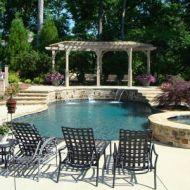 Custom Freeform Pool and Spa in Atlanta Georgia
