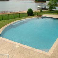 Custom Vanishing pool in Atlanta Georgia
