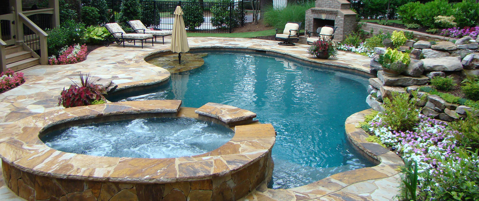 High quality pools and spas atlanta outdoor designs inc for Pool design inc