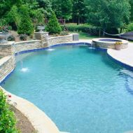 Custom Freeform Pool in Georgia