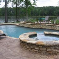 Custom Freeform Pool in Atlanta Georgia