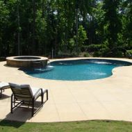 Freeform pool and patio atlanta georgia