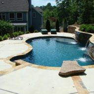 Freeform Pool in Atlanta Georgia