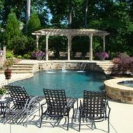 Custom Freeform Pool and Spa in Atlanta Georgia