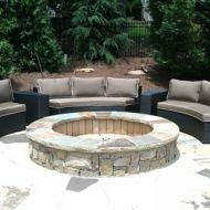 Atlanta Georgia Custom Built Firepit