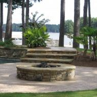 Firepit Design Atlanta Georgia