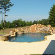 Custom Freeform Pool Atlanta Georgia