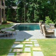 Atlanta Georgia Custom Rectangular Pool