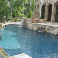 Waterfall Pool Design Atlanta Georgia