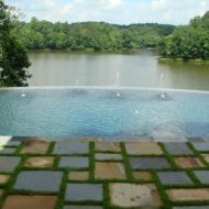 Custom Vanishing Pool Atlanta Georgia