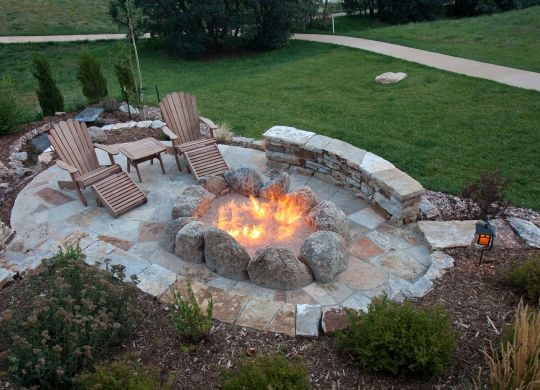 custom fire pit Atlanta GA