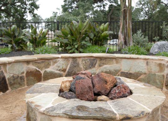 Custom Outdoor Fireplace Atlanta GA