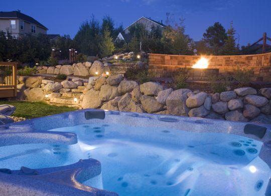 backyard kitchen pool atlanta fire pit atlanta